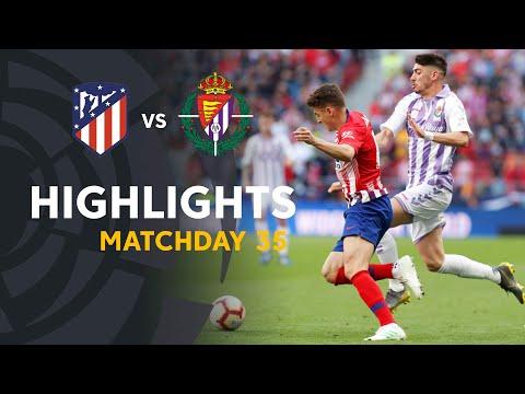 Highlights Atlético de Madrid vs Real Valladolid (1-0)