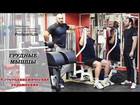 СТАТОДИНАМИКА. Упражнения на грудные мышцы