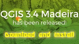 Gambar cover Download and Install QGIS 3 4 - what's new?