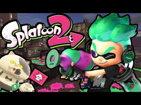 Splatoon 2 Switch Gameplay - Splatfest World Premiere! - Team Cake VS Ice Cream - Pearl VS Marina