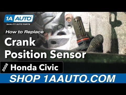 How to Replace Crank Position Sensor 06-11 Honda Civic