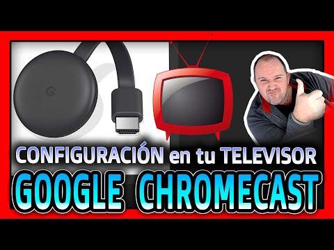 Como Configurar Google Chromecast Con Tu Televisor - 2020 - Video 1