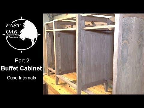 walnut-buffet-cabinet-build-part-2:-case-internals-|-woodworking
