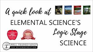 A quick look at Elemental Science's Logic Stage Series