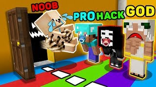Minecraft NOOB vs PRO vs HACKER vs GOD : WHO STOLE a BABY NOOB NOOB? Challenge in Minecraft
