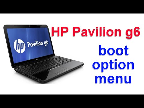 Boot Hp Pavilion G6 From Dvd Cd