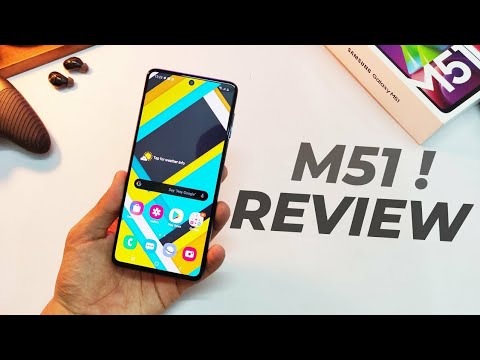 Samsung Galaxy M51 Full Review and Camera Test| Electric Blue Colour |