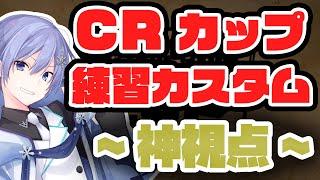 【神視点】第7回CRカップ練習カスタム 1日目【APEX】
