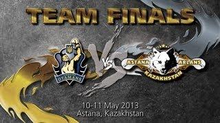 Ukraine Otamans - Astana Arlans Kazakhstan - Team Finals - Day 1 - WSB Season 3