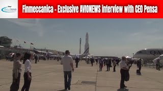 Finmeccanica - Exclusive avionews interview with CEO Pensa