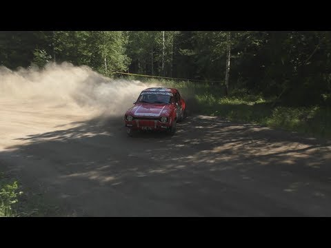 Orimattila Ralli 2018 (crash & action)