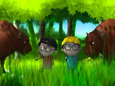Экология  Тралик и Валик  Детский развивающий мультик