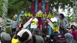 [Live - Festival View] T-Five - A.M.K.M. (Aku Mendua Kamu Mendua) at Mantap ANTV March 17th 2013