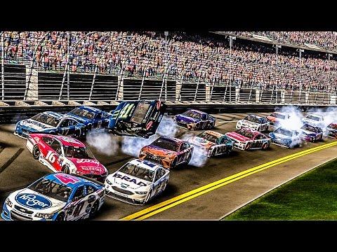 Crash-Filled 500! | NASCAR Heat Evolution |