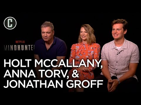 Mindhunter Season 2: Jonathan Groff, Anna Torv & Holt McCallany Interview