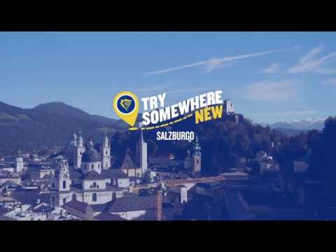 Descubre Salzburgo con Ryanair
