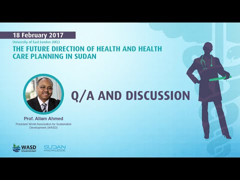 The future direction of health and health care planning in S