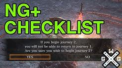 NG+ Checklist - Dark Souls 3