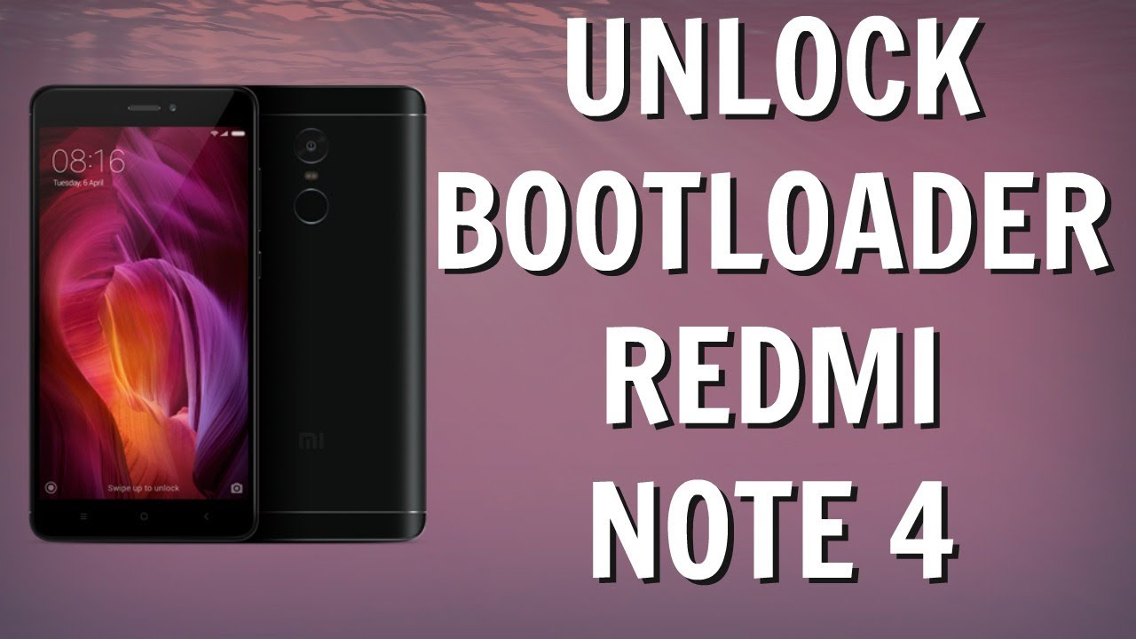 UNLOCK Bootloader Redmi Note 4 WITHOUT Any ERROR