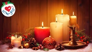 Beautiful Christmas Background Music Playlist with Candles Video 2019 🕯 (90 mins)