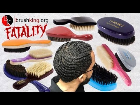 360 Wave Brushes: Differences Between 7 Row vs 9 Row Brushes - FATALITY by  BRUSH KING