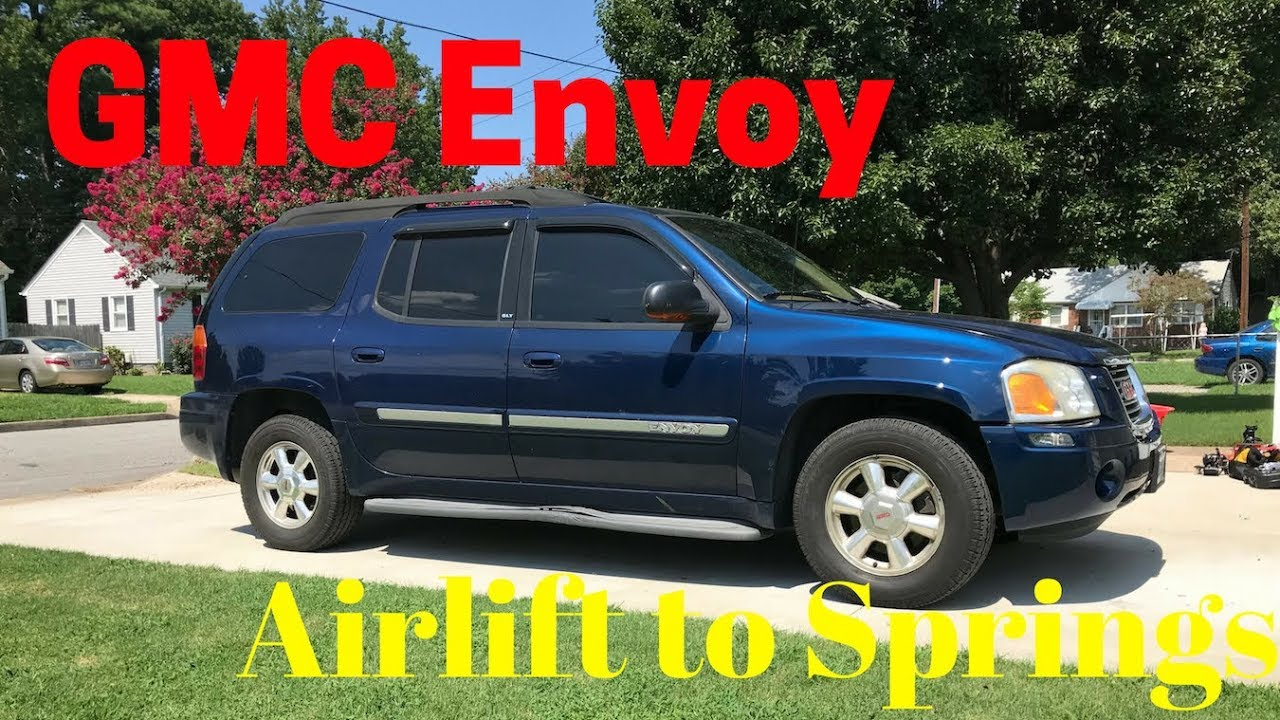 GMC Envoy Airlift Replacement   YouTube GMC Envoy Airlift Replacement
