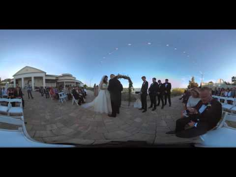 Meaghan & Chase - 360° Wedding Video