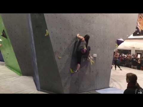 Bouldering Divisionals 2017 ABC Kids Climbing