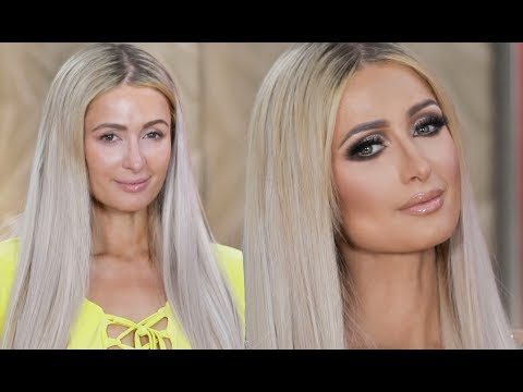 PARIS HILTON MAKEUP TRANSFORMATION  PatrickStarrr