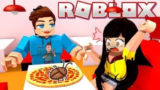 He Tried to Feed Me Bugs On My Pizza!? (Roblox)