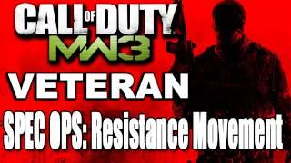 Call of Duty Modern Warfare 3: Resistance Movement Veteran SpecOps