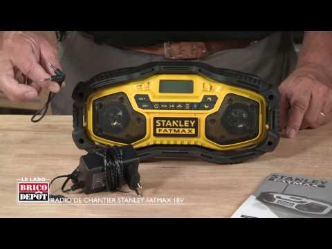Labo Brico - Test radio de chantier Stanley Fatmax 18V