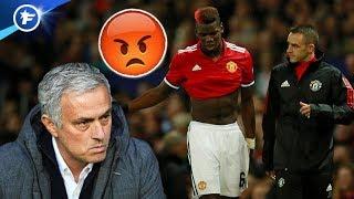 Mourinho furieux contre Pogba   Revue de presse