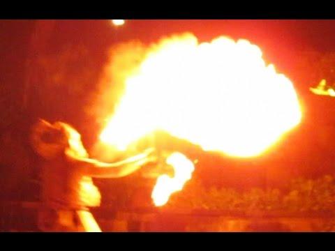 Ramayana FIRE DANCE - Anoman Obong - Hanuman Burnt Down Alengka Kingdom [HD]