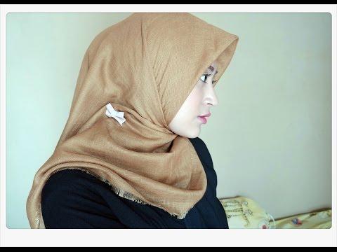 #62 Hijab Tutorial - Natasha Farani (2 Cara Memakai Jilbab Paris Segi Empat Simple) thumbnail