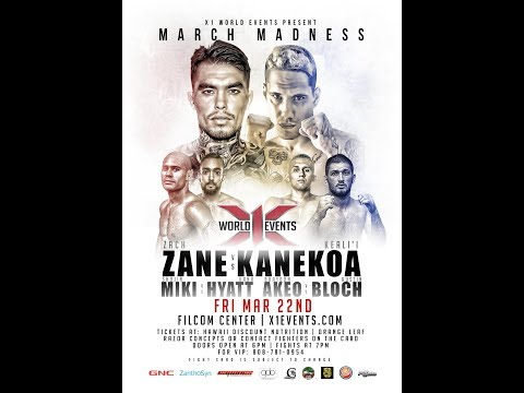 X1 52 FullFight March Madness - March 22, 2019