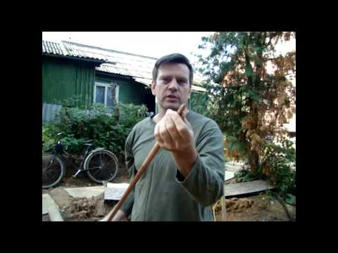 Видеонструкция по монтажу комплекта заземления кувалдой