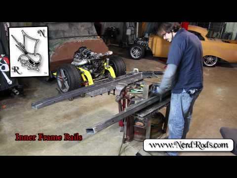 Nerd Rods Trifive Weld It Yourself Frame Kit with Corvette Suspension Time Lapse Overview