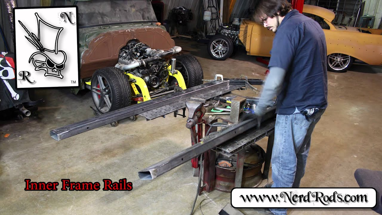55 chevy truck frame swap 55 chevy truck frame swap car pictures - Nerd Rods Trifive Weld It Yourself Frame Kit With Corvette Suspension Time Lapse Overview Youtube