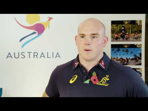 Invictus Games Sydney 2018 Stephen Moore Interview HD