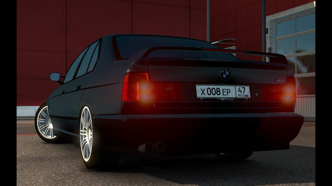 Euro Truck Simulator 2 Bmw E34 M5 Car Mod Test Hd Hun Youtube