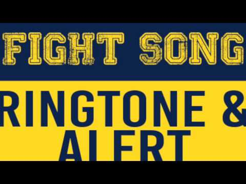 Michigan Fight Song Theme Ringtone and Alert