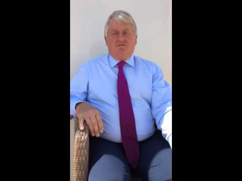 Denis O'Brien does Ice Bucket Challenge