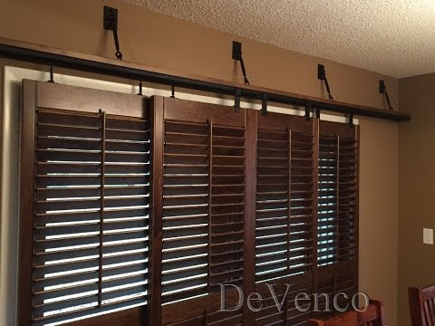 Sliding Glass Door Shutters