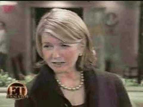 Martha Stewart on her time in jail