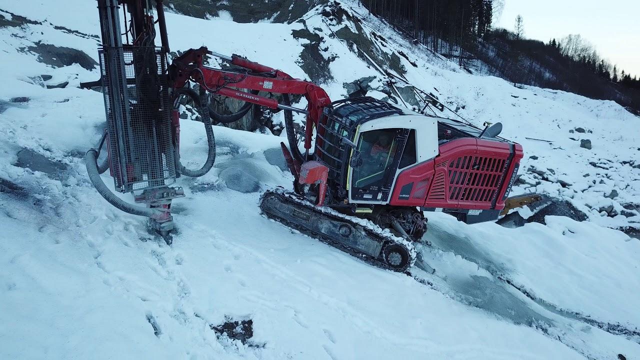 Sandvik Ranger DX800i drilling 4K