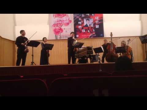 Vivaldi - The Four Seasons - Zhan Shu and Friends (fancam)