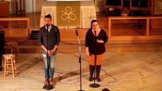 Team MOM - Jared Milian & Alicia Anna perform Rewrite The Stars