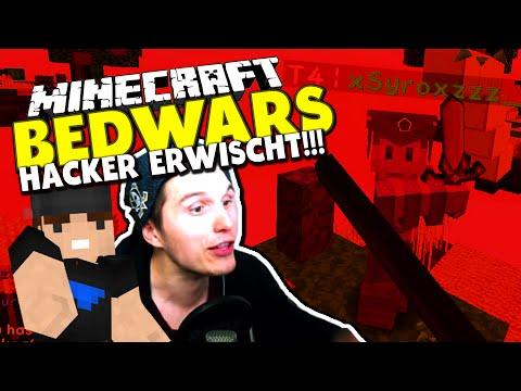 HACKER ALARM! NO KNOCKBACK - MITTEN IN DER AUFNAHME ERWISCHT! ✪ Minecraft Bedwars Woche Tag 76