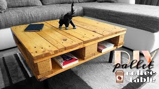 DIY - pallet & coffee table again